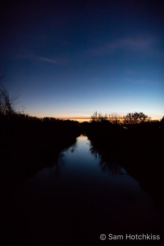 Albuquerque Irrigation at Night
